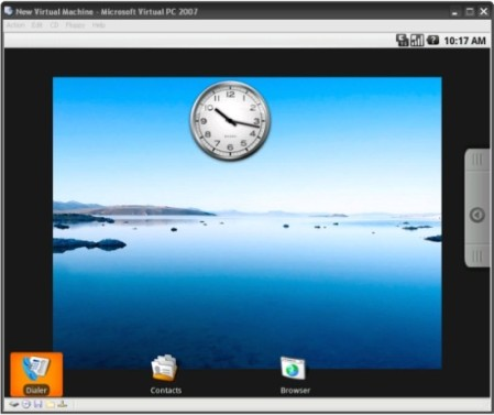 Android OS on Virtual PC