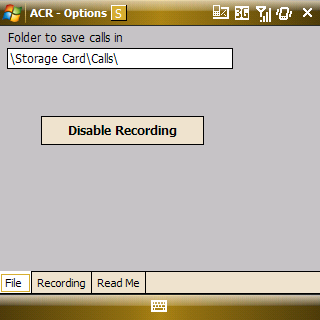 auto call recorder for windows mobile