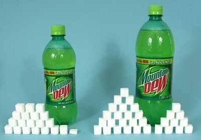 mountain dew sugar