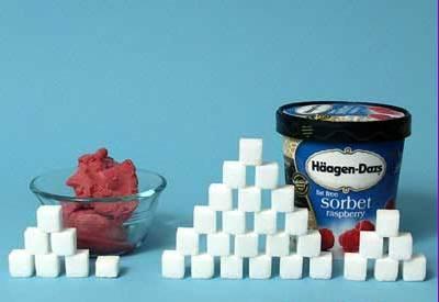 haagen daz sugar