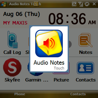 Audio Notes Touch