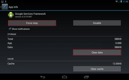 android 4.3 on nexus 7