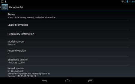 nexus 7 ota android upgrade